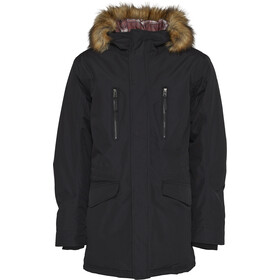 North Bend Town Parka Heren, black